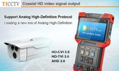 Coaxial high-definition tester
